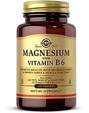 Solgar Magnesium med Vitamin B6 surfplattor, förpackning med 100