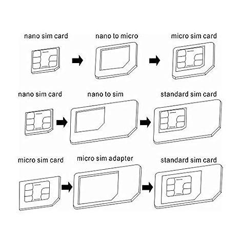 Amazon.com: Mini Mexx 4 in 1 Convert Nano SIM Card to Micro ...