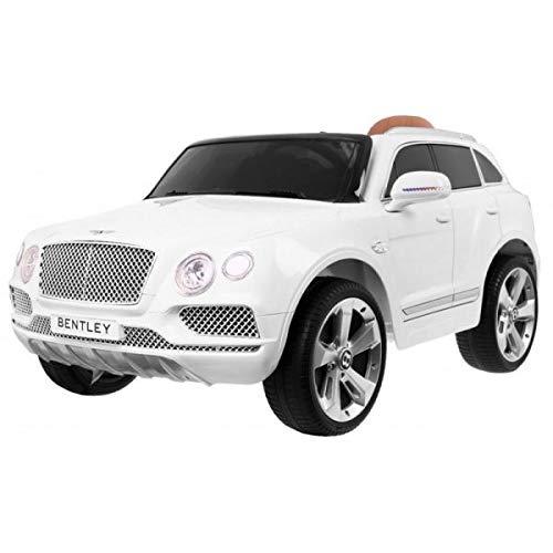 Bentley Bentayga Elektrisches Auto, 12 V, Weiß – Luxus-Packung