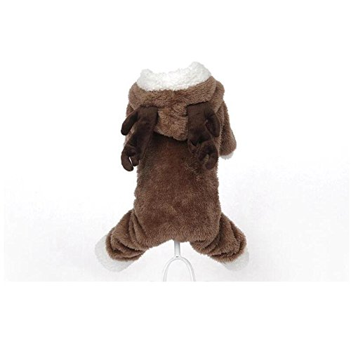 Jspoir Melodiz Reindeer Holiday Pet Clothes Sweaters for Dogs (Dance Racks Costumes)