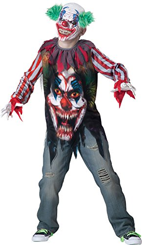 Boys Halloween Costume-Big Top Terror ids Costume XSmall 6 - Big Top Terror Scary Kids Costumes