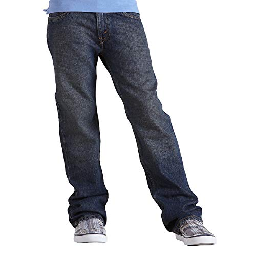 (Signature by Levi Strauss & Co. Gold Label Big Little Boys' Straight Fit Jeans, Prodigy, 5)