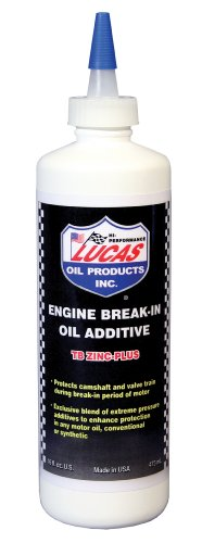Lucas Oil LUC10063 16 Ounce 10063 Engine Break-in Oil Additive-16 oz