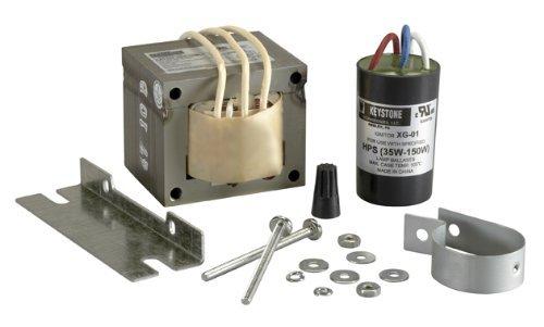 Keystone HPS-150R-1-KIT 150W (S55) High Pressure Sodium Ballast Kit by Keystone Technologies