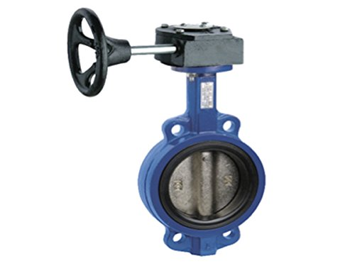 Red-White Valve 2RW937BNSG Aluminum Bronze Wafer Style Butterfly Valve with Lever Handle 2 2 Standard Plumbing Supply