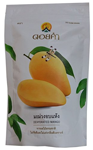 Doikham Dehydrated Mango 140g. Product of Thailand by Doi Kham