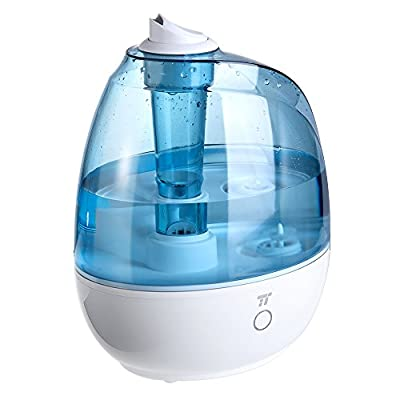 TaoTronics Humidifier, 2L Cool Mist Ultrasonic Humidifiers for Babies Bedroom, Zero Disturb Sleep Mode, Filter Free and Whisper Quiet, BPA FREE- US Plug 110V by TaoTronics that we recomend individually.