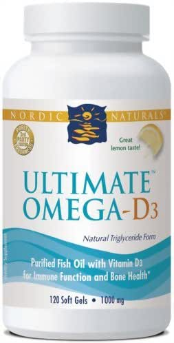 NORDIC NATURAL Ultimate Omegad3 Lemon, 0.4 Pound