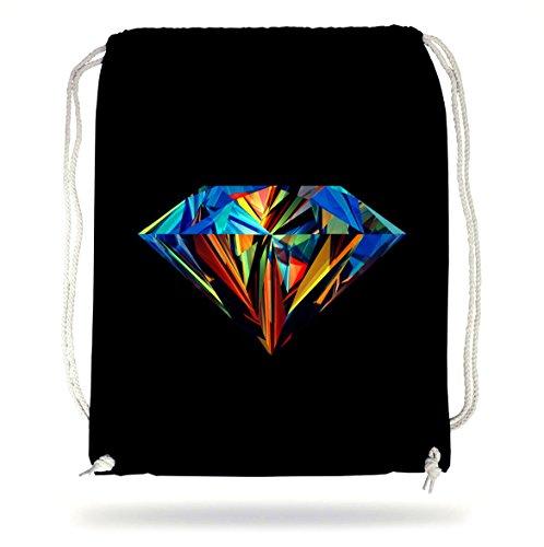 Diamond Colors Gymsack Black Certified Freak