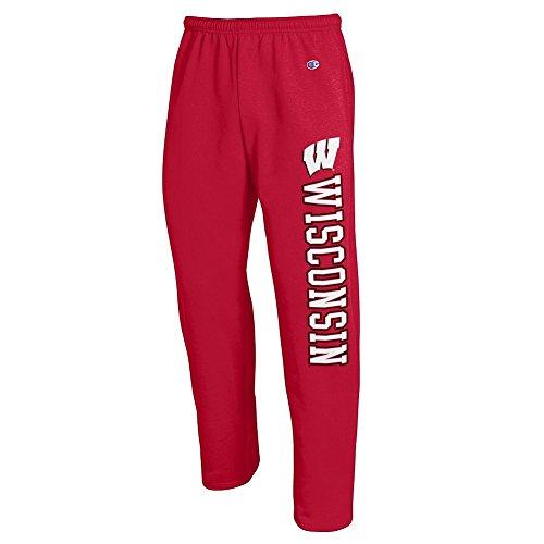 - Elite Fan Shop Wisconsin Badgers Sweatpants Pockets Cardinal - XXL