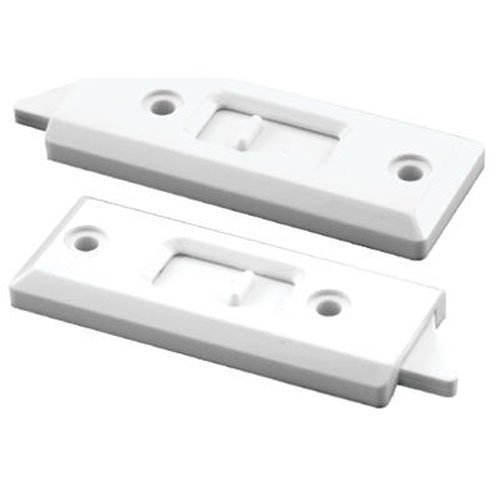 Slide-co 173958 3-1/4-Inch Spring Loaded Vinyl Window Tilt Latch Left Hand & Right Hand, White For use on single or double-hung aluminum or vinyl windows