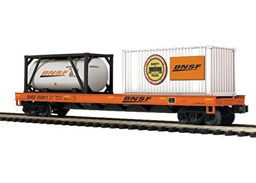 MTH #20-95294 BNSF - Flat Car w/Containers