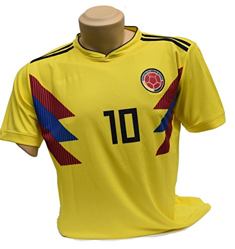 COLOMBIA Soccer Jerseys for 2018 Russia Worldcup NationalTeams| Support Your Team during Soccer World Championship (Medium)