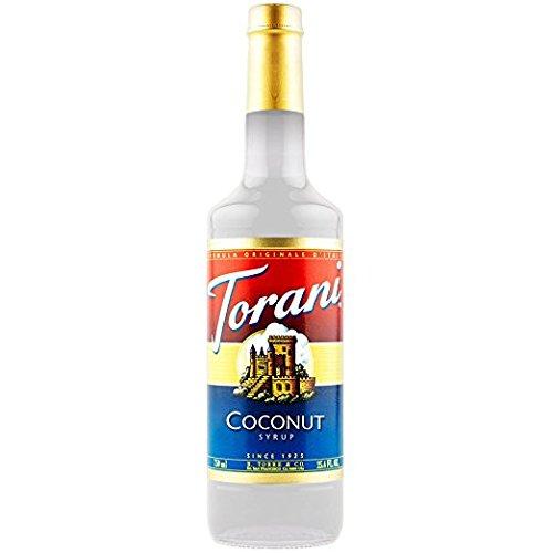 Torani Coconut Syrup, 750 ml]()