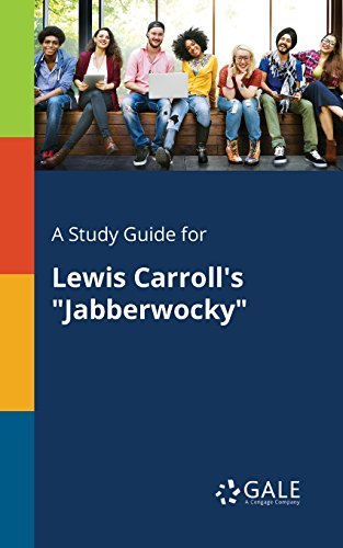 Amazoncom A Study Guide For Lewis Carrolls Jabberwocky