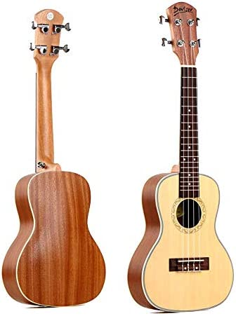 North King Ukelele acústico para Guitarra 61 cm con Panel de pícea ...
