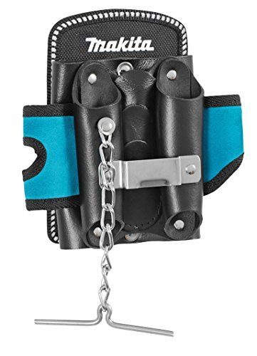 Mate Tool & Tape Holder Storage 5 Pockets Belt Clip | Blue ()