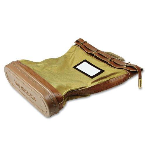 Cordura Plus Padlock Mail/Courier Bag, 18 quot;x5-1/4 quot;x24 quot;, Tan by MMF Industries