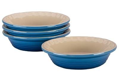 Le Creuset Heritage Stoneware Petite Pie Dish, Set of 4