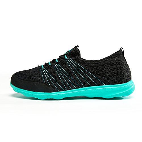 VIGSHOENIA Performance Women's Memory Foam Slip-on Comfortable Walking Shoe