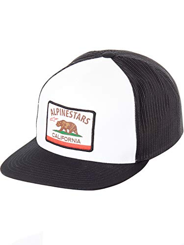 Alpinestars Cali Trucker Snapback Hat-White