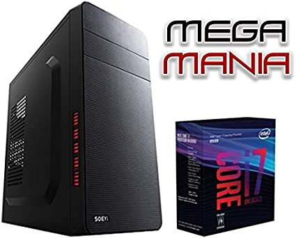 Megamania Ordenador Sobremesa Intel Core i7 up to 3,4Ghz x 4 ...