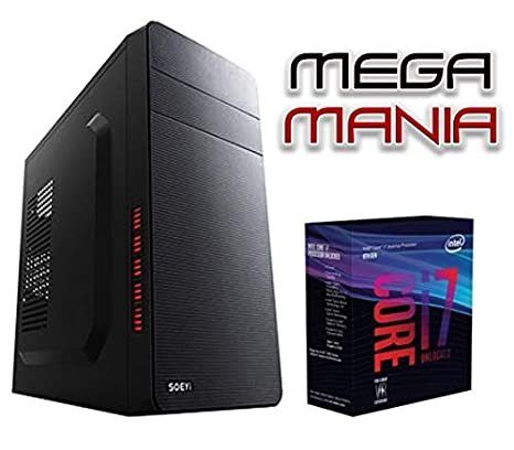 Megamania Ordenador SOBREMESA Intel Core i7 up to 3,4 x 4 ...