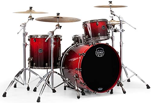 Mapex Saturn V MH Exotic 3-piece Shell Pack - Cherry Mist Maple Burl