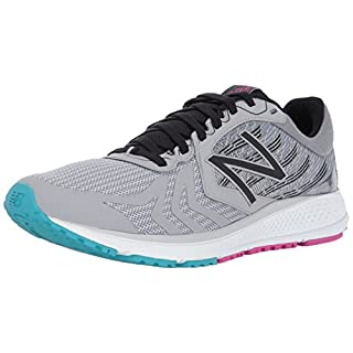 New Balance Women's Vazee Pace V2 Running Shoe, Silver Mink/Black, 5 B US