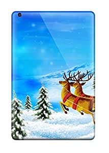 Tpu Shockproof/dirt-proof Merry Christmas1 Cover Case For Ipad(mini/mini 2)