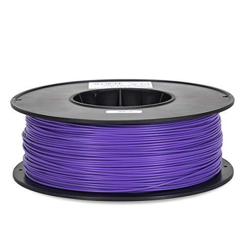 Inland 1.75mm Purple PLA 3D Printer Filament - 1kg Spool (2.2 lbs)