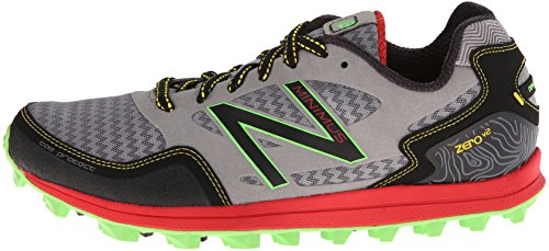 ca168729afb93 New Balance Men's Mt00 Minimus Trail Shoe Trail Running Shoe,Grey/Red,7
