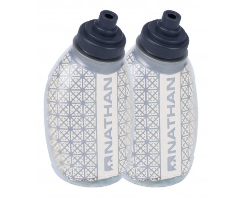 Nathan Fire and Ice Flask (2-Pack), Clear