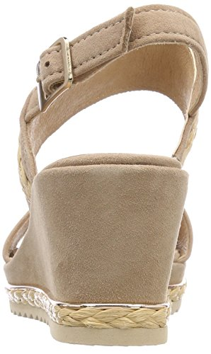Damen 28340 Be Pink Sandalen Slingback Natural Powder 1Uxq7wz5