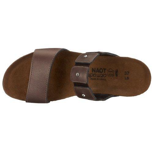 Leather 5 43 Ashley Women EU US Sandal 11 NAOT 12 Wedge M Copper wqgZxpUX