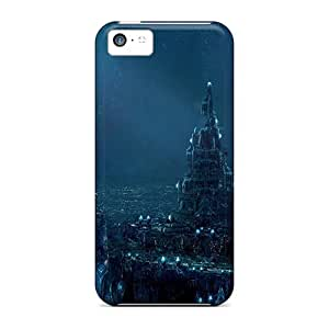 Awesome City5 Flip Case With Fashion Design For Iphone 5c