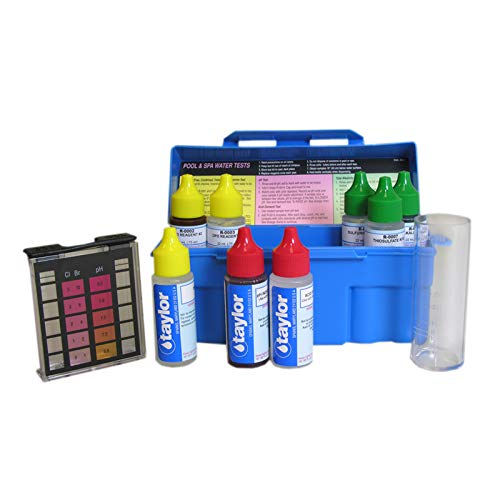 taylor K-1004 Troubleshooter DPD Pool and Spa Water Test - Taylor Kit Spa Test