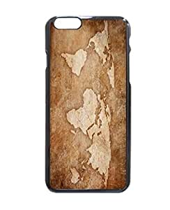 """Fashion Design Art Print World Map Stylish Photo Printed Hard Customized Case Cover , iPhone 6 Plus (5.5"""") Case Cover, Protection Quique Cover, Perfect fit, Show your own personalized phone Case for iPhone 6 Plus - 5.5 inches by supermalls"""