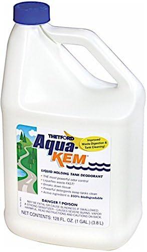 B000BJEYSY Aqua-Kem RV holding tank treatment - Deodorant / Waste Digester / Detergent - 1 gallon - Thetford 28614 41dmuSxSL6L
