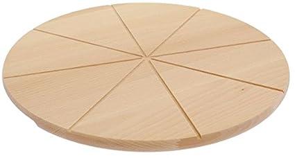 IKEA redondos de madera pizza Cortar/bandeja de pizza/ – Plato para pizza,