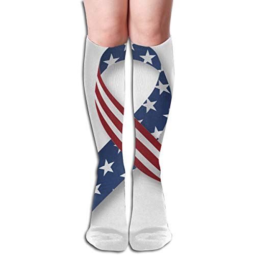 NBteach MLK Martin Luther King Jr Day Themed Clothing Apparel Leg Mid Tall Long Tube Knee High Calf Stocking Costume Clothes Dresses Hi Female Ladies Women Girl Teen Youth Hosiery Socks ()