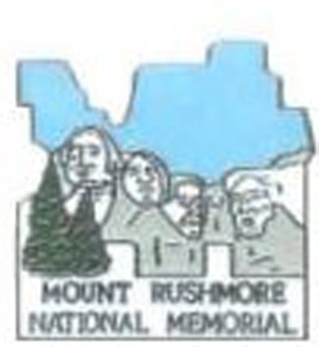 Mt Rushmore Pin - Mt. Rushmore National Park Pin - Large