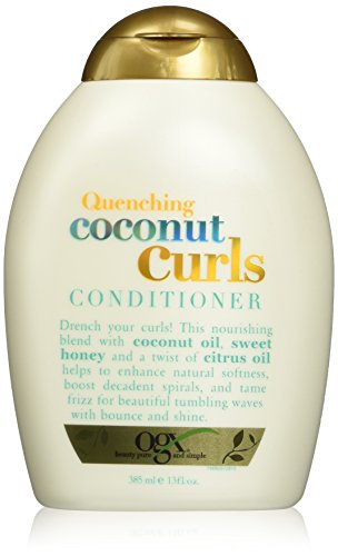 Organix Quenching Plus Curls Conditioner, Coconut, 13 Fluid Ounce