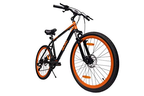 LightSpeed Glyd MTB with Aluminium Frame, Dual Disc Brakes, Front Suspension| Speed Gear Bicycle for Exercise, Fitness and Commute | Men's MTB Bicycle Price & Reviews