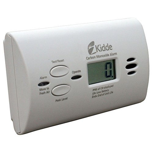Kidde 21008873 Battery Operated Digital Display KN-Copp-B-LPM Carbon Monoxide Alarm (Operated Battery Carbon Kidde)
