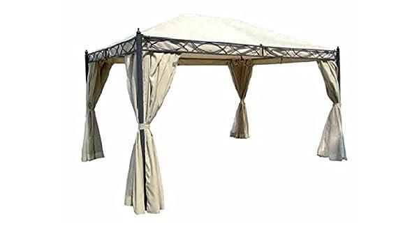 Carpa Vittoria estructura de metal barnizado a polvo. Toalla de cubierta de poliéster 180 gr./M², palo diámetro 60 mm. Completo de cortinas Mosquitera. Color Crudo.: Amazon.es: Bricolaje y herramientas