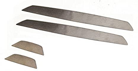Blank Acciaio Sill inlays in acciaio inossidabile Stile