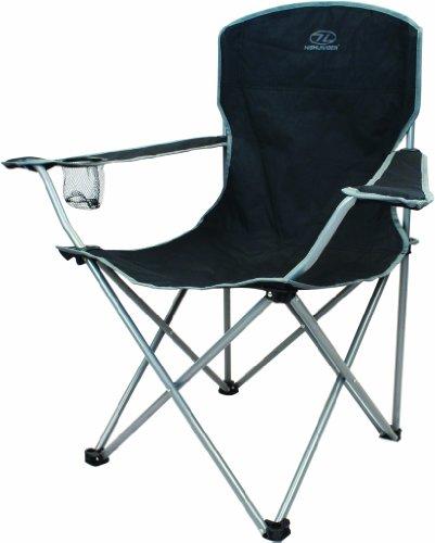 Highlander Folding Camp Chair ― Lightweight & Durable Outdoor Seat ―...