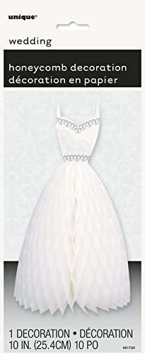 "10"" Wedding Dress Centerpiece Decoration"