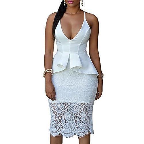 Peplum Dresses Plus Size: Amazon.com
